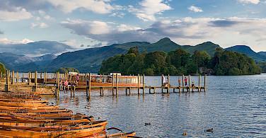 Derwent Water near Keswick. Photo via Wikimedia Commons: David Iliff.