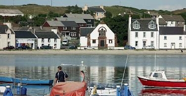 Port Ellen. Photo via Wikimedia Commons:J M Briscoe