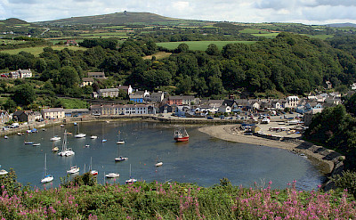 Harbor in Fishguard, Pembrokeshire, Wales, United Kingdom. Photo via Flickr:Nick