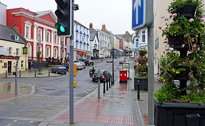 High Street in Haverfordwest, South Wales, United Kingdom. Photo via Flickr:Dave Collier