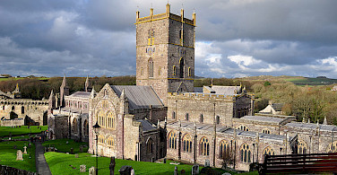 St David's Cathedral, Pembrokeshire, Wales, United Kingdom. Photo via Flickr:Michael Gwyther