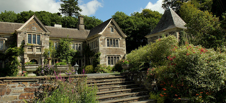 Lewtrenchard Manor House, Okehampton, Devon, United Kingdom. Photo via Flickr:Marianne Bevis