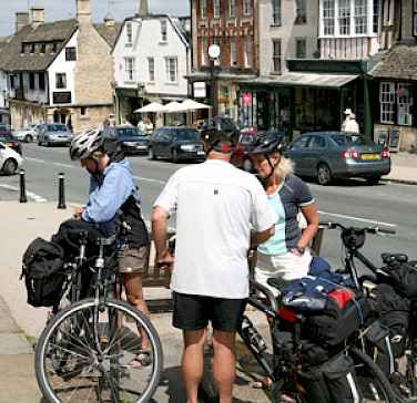 Cycling in the Cotswolds, England. Photo courtesy of Hooked on Cycling.