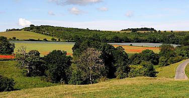 Scenic Cotswolds, England. Photo via Wikimedia Commons:Saffron Blaze
