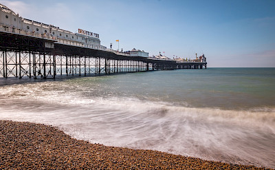 Brighton Beach, England. Flickr:Giuseppe Milo