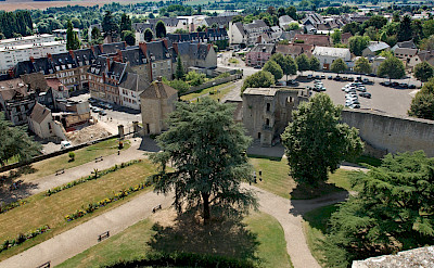 Chateau de Gisors view, Normandy, France. Flickr:Frederic BISSON