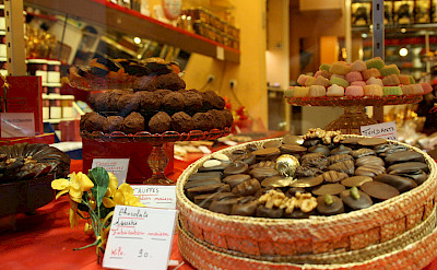 Chocolaterie Shop on Rue du Faubourg Saint Honore, Paris, France. CC:Paris-Sharing