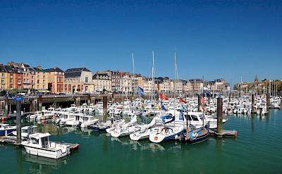 Harbor in Dieppe, Normandy, France. Flickr:Herbert Frank