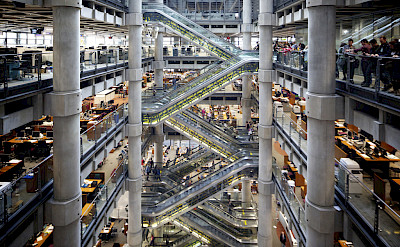 Lloyd's of London, United Kingdom. Flickr:Aurelien Guichard