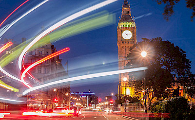 Big Ben in London, the largest city in England. Flickr:hexadb