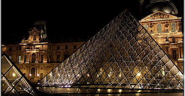 The Louvre, of course! Photo via Flickr:Moyan Brenn
