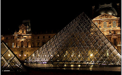 The Louvre, of course! Flickr:Moyan Brenn