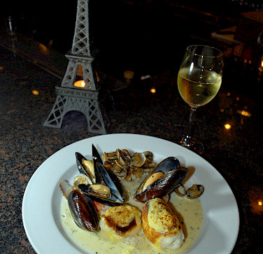 Sole and mussels in Paris! Photo via Flickr:NwongPR
