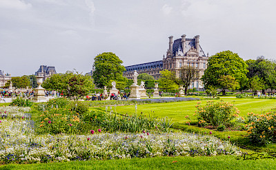Tuileries Gardens in Paris, France. Flickr:Steven dosRemedios