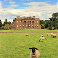 Berrington Hall in Ludlow, England. Photo via TO