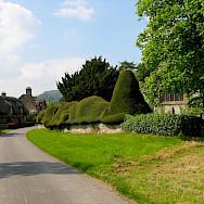 Biking through Brampton Bryan in Herefordshire, England. Photo via TO