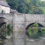 Bridge in in Ludlow, Shropshire, England, United Kingdom. Flickr:Andrew Gustar
