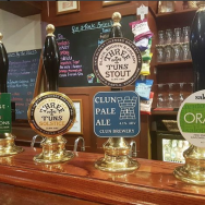 Local craft beers are another tasty treat on the Ludlow, England and Wales tour. Photo via TO