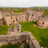 Grand view of Ludlow Castle in Shropeshire, England, United Kingdom. Flickr:bvi4092