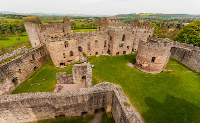 Grand view of Ludlow Castle in Shropeshire, England, United Kingdom. Flickr:bvi4092