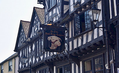 Ye Olde Bull Ring Tavern in Ludlow, Shropshire, England, United Kingdom. Flickr:Nick Amoscato