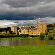 Stokesay Castle in Shropshire, England, United Kingdom. Flickr:Richard Szwejkowski