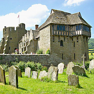 Stokesay Castle, Shropshire, England, United Kingdom. Wikimedia Commons:Tony Grist CC0