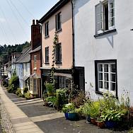 Cozy street in Ludlow, Shropshire, England, United Kingdom. Flickr:Nick Amoscato