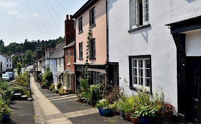 Cozy street in Ludlow, Shropshire, England, United Kingdom. Flickr:Nick Amoscato