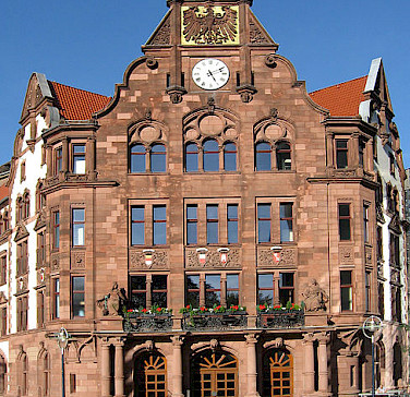 Altes Rathaus in Dortmund. Photo via Wikimedia Commons:Mathias Bigge