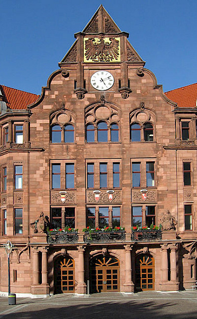 Altes Rathaus in Dortmund. Photo via Wikimedia Commons:Mathias Bigge