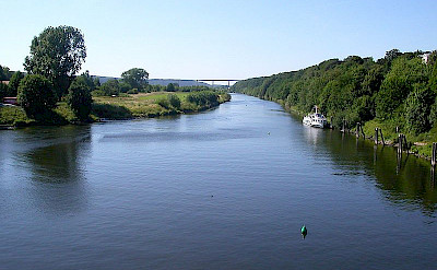 Ruhr River in Essen-Kettwig. Photo via Wikimedia Commons
