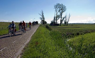 Biking near Spakenburg, Utrecht, the Netherlands. ©TO