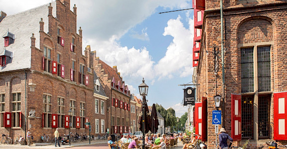 The Hanseatic Town of Doesburg, Gelderland, the Netherlands. ©TO