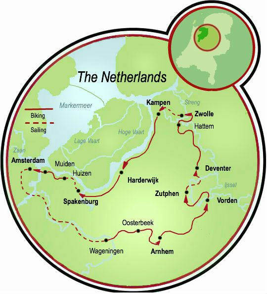 Authentic Holland Bike and Barge Tour Netherlands Tripsite