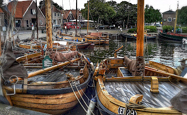 Boats in Harderwijk in Gelderland, the Netherlands. Photo via Flickr:Frank Meijn