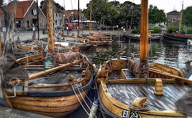 Boats in Harderwijk in Gelderland, the Netherlands. Photo via Flickr:Frank Meijn