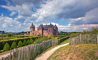 Muiderslot - castle in Muiden, North Holland, the Netherlands. ©Hollandfotograaf