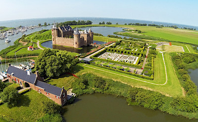 Muiderslot - castle in Muiden, North Holland, the Netherlands. ©TO