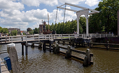 Bridge in Zwolle, Overijssel, the Netherlands. ©TO
