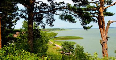 Juodkrante (Juodkrantė) along the Curonian Spit, Lithuania. Photo via Flickr:Kevin Veau