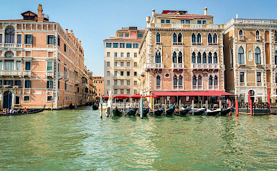 Enjoying beautiful Venice in Veneto, Italy. ©Photo via TO