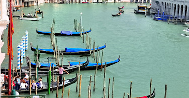 Grand Canal in Venice, Veneto, Italy.