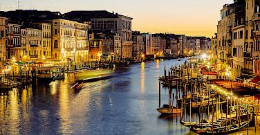Grand Canal in Venice, Veneto, Italy. Photo via Flickr:Pedro Szekely