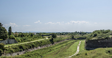 Biking just outside Palamanova, Italy. Photo via Flickr:stefano Merli