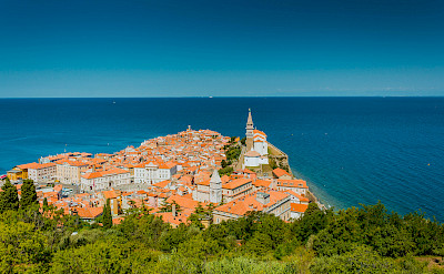 Piran on the Adriatic Sea in Slovenia. Photo via Flickr:Marco Verch