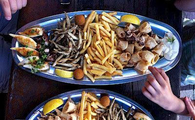 Finger foods in Portoroz, Slovenia. Photo via Flickr:Hasan Basri Akirmak