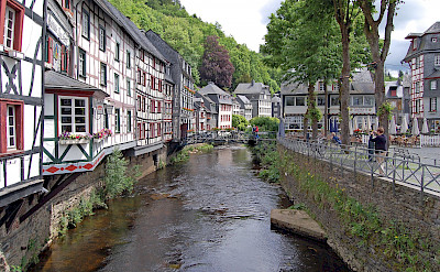 Rur River in Monschau, Germany. Flickr:Gunter Hentschel