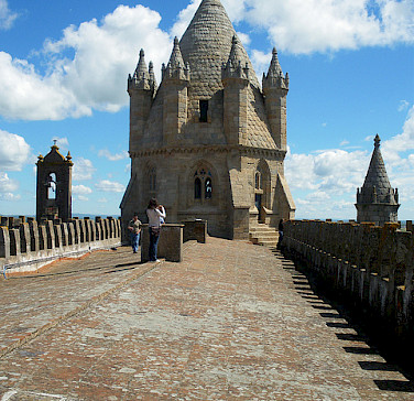 Evora is so well-preserved, it is a UNESCO World Heritage Site. Alentejo, Portugal. Photo via Flickr:lulyo