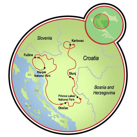 National Parks of Northern Croatia Bike Tour  Croatia  Tripsite
